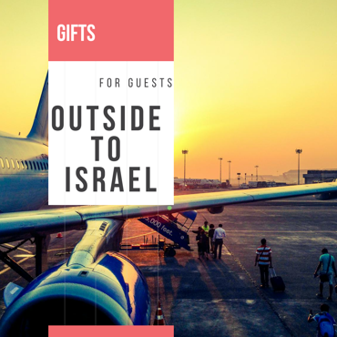 Picture for category Gifts for guests Outside to Israel